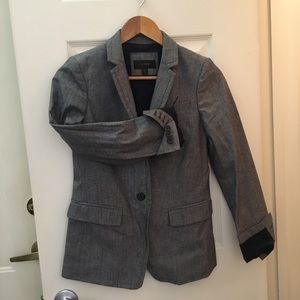 J crew blazer in chambray